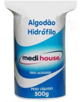 Algodão Hidrófilo em Rolo 500 Gramas - Medi House