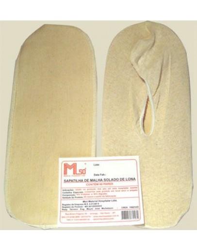Sapatilha de Malha Simples (50 pares) - MSO