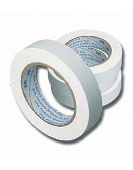Fita Adesiva Crepe Branca 19mm x 50m - 3M
