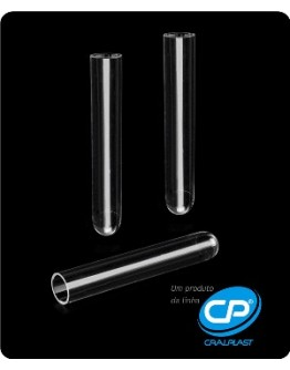 Tubo de Ensaio 12x75mm 5ml PP Não Estéril - Cral