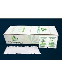 Lenço Umedecido para Assepsia 20x15cm (100 unidades) - Biowipes